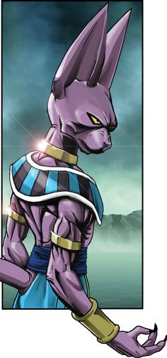 Beerus/Bills- something knew to the db universe I suppose... but oddly enough I prefer Whis because of his happy and wise personality.