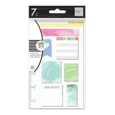 Create 365 The Mini Happy Planner Sticky Notes ❤ liked on Polyvore featuring home, home decor and stationery