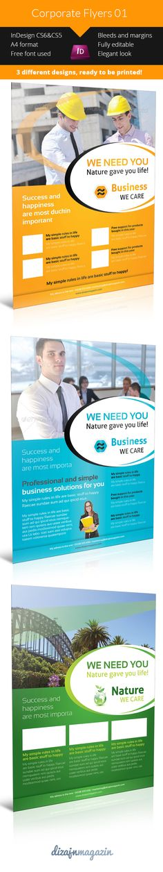 Multifunction Corporate Flyers Free