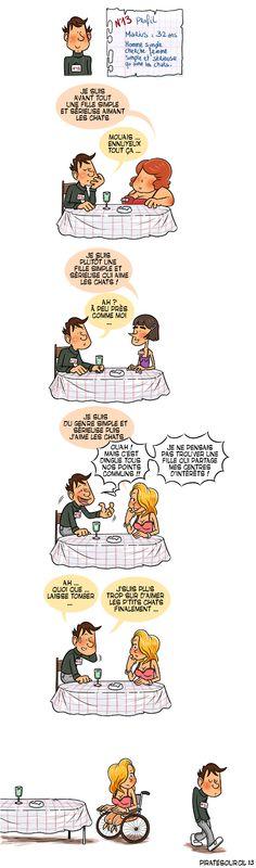 PirateSourcil: Une histoire de speed dating