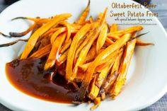 Oktoberfest Beer Sweet Potato Fries