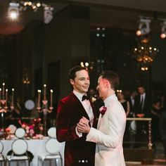 The Big Bang Theory's Jim Parsons marries his long-term boyfriend - Repinned by Woolton & Hewitt the LGBT wedding and engagement ring jeweller