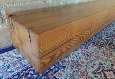 "Reclaimed Wood Mantel 80"" x 7"" x 5"" - Barn Beam Mantel - Solid Rustic Mantle - Antique Mantle - Barn Wood Mantel - Fast Mantel Shipping by Harvestbilt on Etsy"