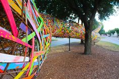 Check out Funnel Tunnel, Patrick Renner's temporary art exhibition in Montrose. Commissioned by Art League Houston, Funnel Tunnel Houston Montrose Houston, Houston Locations, Stuff To Do, Things To Do, Portrait Studio, H Town, Texas Travel, Houston Tx, Visit Houston