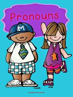 FREE pronoun activities for speech therapy. Repinned by SOS Inc. Resources. Follow all our boards at pinterest.com/sostherapy/ for therapy resources.