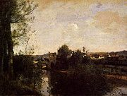 """New artwork for sale! - """" Corot Old Bridge At Limay On The Seine by Jean Baptiste Camille Corot """" - http://ift.tt/2p1Yv5K"""