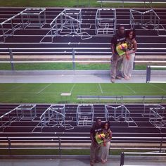 Track prom proposal