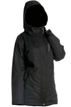 Khujo jacke damen winter grau