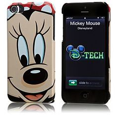 Disney Minnie Mouse iPhone 5 Case | Disney StoreMinnie Mouse iPhone 5 Case - You'll be all smiles every time you use your Minnie Mouse iPhone 5 case. With its large image of a beaming Minnie, you're sure to get a good reception wherever you go.@Kristiana Lopez