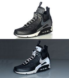 6ab405a1a4ae NIKE Reflective elements Men s mid top sneaker boot Lace up closure AIR MAX  logo on side Classic bubble sole Padded tongue with NIKE logo
