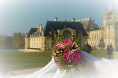 #photomariée #chantilly #mariée #forêtdechantilly #chateaudechantilly #bouquetdemariée #romantique #mariage #amour #delaolivapolyne