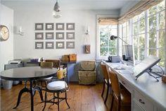 Velvet & Linen-Giannetti house in Santa Monica for sale 5  dream office/kids art room