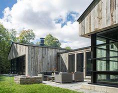 Birdseye Design clads Vermont dwelling in salvaged wooden boards | Dezeen