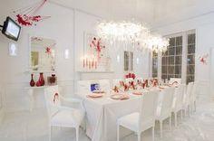 Dexter's Blood Splattered Dining Room