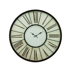 "Found it at Wayfair - Oversized Metal 27"" Wall Clock"
