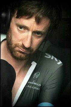 The cyclist: Bradley.