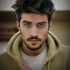 Eyes   Menstyles hair beards and fashion. Cute. Love this! Scruffy look