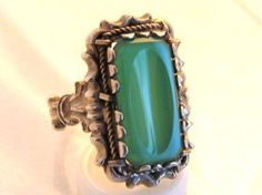 Are You Familiar with this Green Beauty: Chrysoprase? -click through to read the full post from the Found in the Jewelry Box Blog!