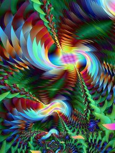 Abstract Art Prints Gallery I | Seattle Fractals Digital Art