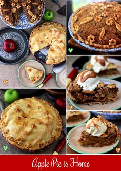 about Apple Pie Tutorial at SugaryWinzy.com on Pinterest | Apple ...