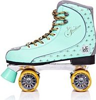 KRF Fashion - Patines quad, color turquesa, talla EU 42