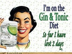 Diet. except mine would be vodka and tonic=) hahahaaa