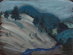 dappledwithshadow: Milton AveryHills and Brook Dimensions: 18…