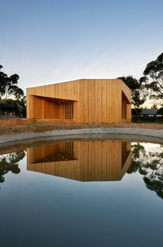 Bentleigh Secondary College Meditation & Indigenous Cultural Centre, Australia by dwp|suters