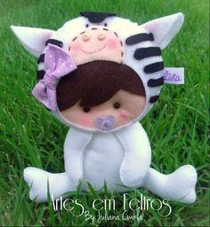 Safari baby Artes em Feltros Apostila disponível na page Artes em Feltros No Facebook