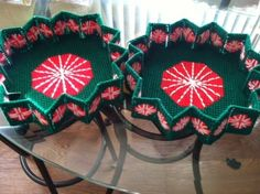 Handmade Christmas Candy Holder