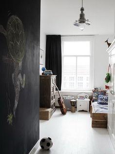 cute & simple boy's room