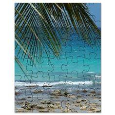 Dominican Republic, Bayahibe, Viva Wyndham Puzzle on CafePress.com