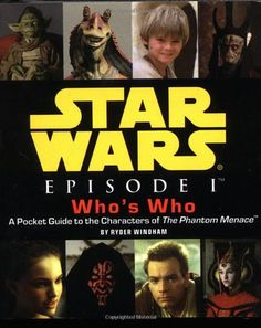 Star Wars Episode I Whos Who @ niftywarehouse.com #NiftyWarehouse #Geek #Products #StarWars #Movies #Film