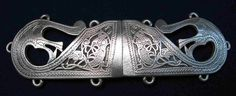 Viking Cloak Clasp in Fine Pewter by treasurecast on Etsy, $25.98
