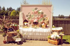 In Full Bloom – A French Bistro Inspired Baby Shower