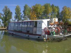 Paseo en el barco Antonio de Ulloa por el canal de Castilla, en Medina de Rioseco