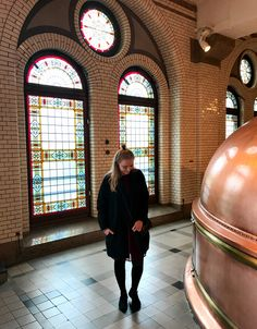 The old brewery of Heineken - A must see on your visit to Amsterdam!