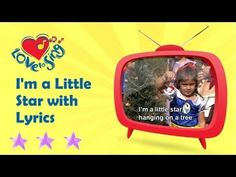▶ Kids Christmas Songs | I'm a Little Star with Lyrics | Children Love to Sing - YouTube