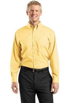 Red House Mens Tall Nailhead Non-Iron Shirt