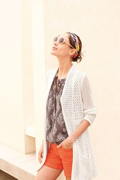 #SmockedHenleyBlouse #Anthropologie