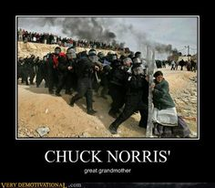 CHUCK NORRIS' - Demotivational Posters to Demotivate You - Work Harder, Not Smarter. Chuck Norris Memes, Very Demotivational, Funny Memes, Hilarious, Funny Captions, Funny Videos, Funny Quotes, Girl Power, The Dreamers