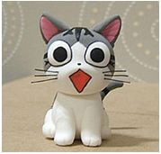 Turorial : How to make a cat kawaii in polymer clay / Tutoriel : Réaliser un chat kawaii en pâte polymère source : http://blog.naver.com/PostThumbnailView.nhn?blogId=dotory798&logNo=100064713691&categoryNo=0&parentCategoryNo=43