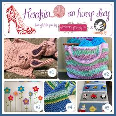 Hookin On Hump Day 74 - the best fiber arts link party on the web!