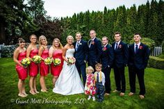 navy blue and coral wedding ideas - Google Search
