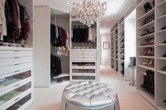 walk in closet design ikea foto - 3