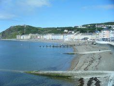 Welsh Coastal Town.