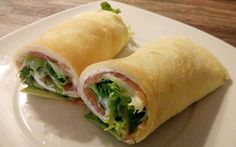 Rezept der Woche: Pfannkuchen-Wraps mit Lachs (Weight Watchers)