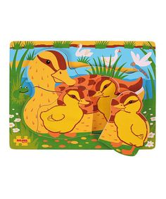 Bigjigs Toys Mum & Baby Duck Chunky Puzzle | zulily
