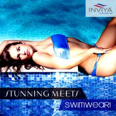 Summer is truly here and it's time to get your swimwear out from the closet! Flaunt your sexy self with INVIYA® infused Swimwear that lets you breathe freely & shapes your body contours like none other. Choose INVIYA®, Swim Freely!  #INVIYA #Fibre #Swimwear #Fashion #Summer