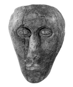 A possible Iron Age head from Trabolgan in Co. Cork, Ireland.